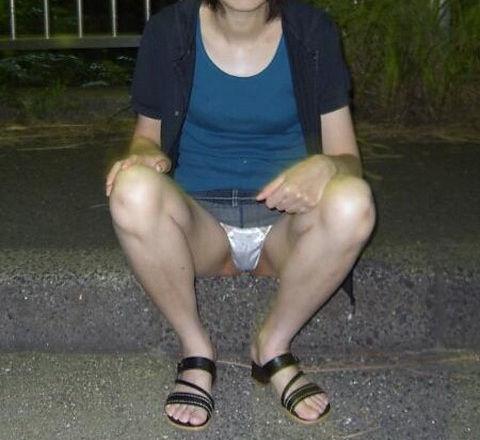 おばちゃん パンチラ ミニスカ 熟女 エロ画像【26】