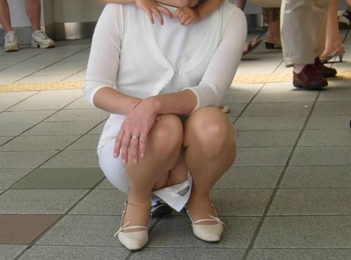 おばちゃん パンチラ ミニスカ 熟女 エロ画像【28】