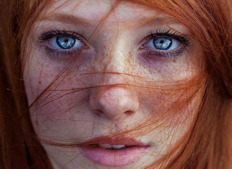 赤毛外国人美女が素敵なレディッシュヘアのエロ画像