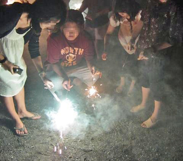 花火 胸チラ 日本の夏 エロ画像【17】