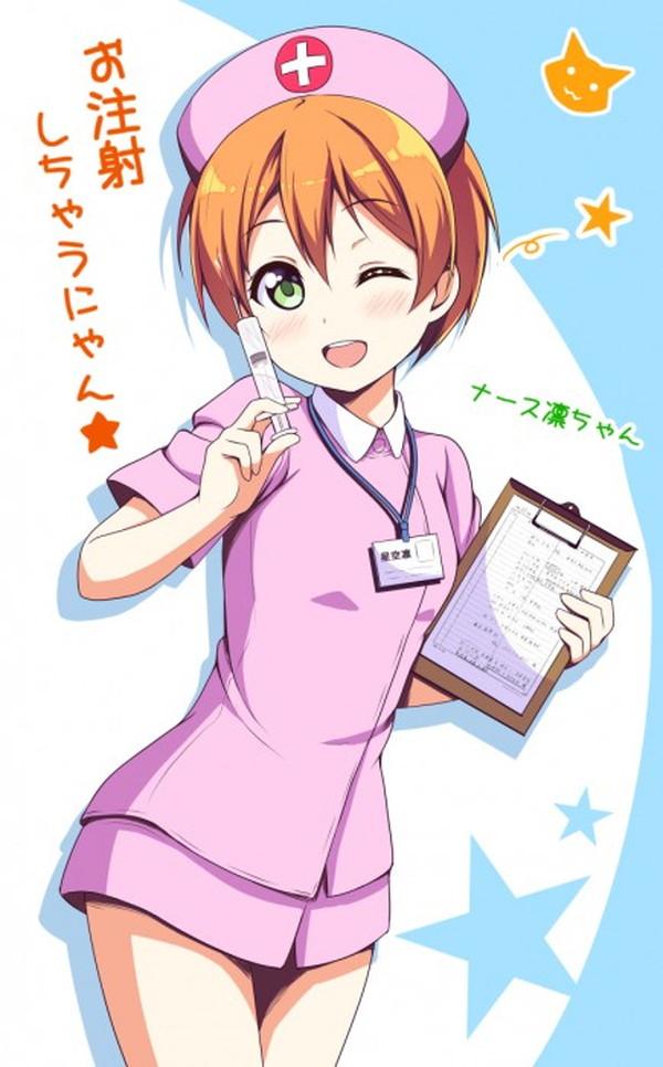 看護婦 注射器 お注射 ナース 二次元 エロ画像【25】