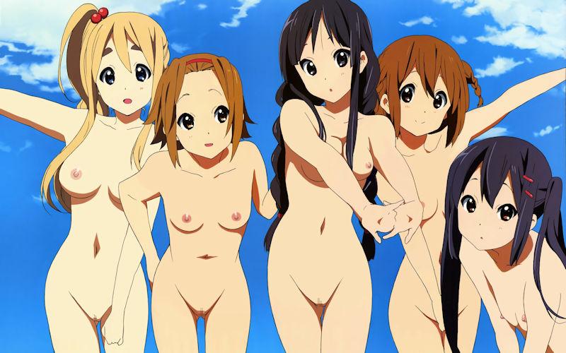 可愛い 裸 二次元 エロ画像【59】