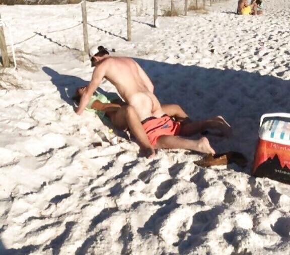 セックス ヌーディストビーチ エロ画像【62】