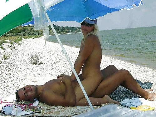 セックス ヌーディストビーチ エロ画像【68】