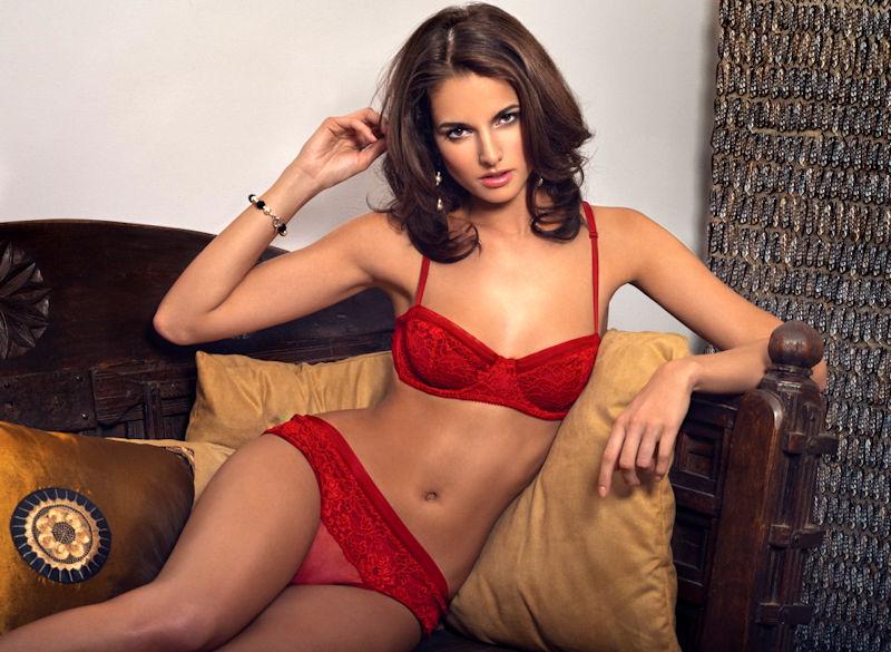 下着美女を眺めていたい外国人ランジェリーモデルのエロ画像