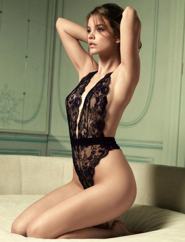 下着 美女 外国人 ランジェリー モデル エロ画像【20】