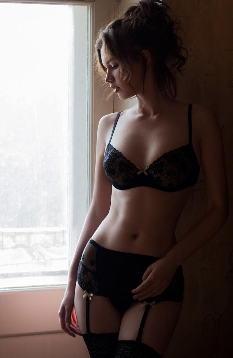 下着 美女 外国人 ランジェリー モデル エロ画像【30】