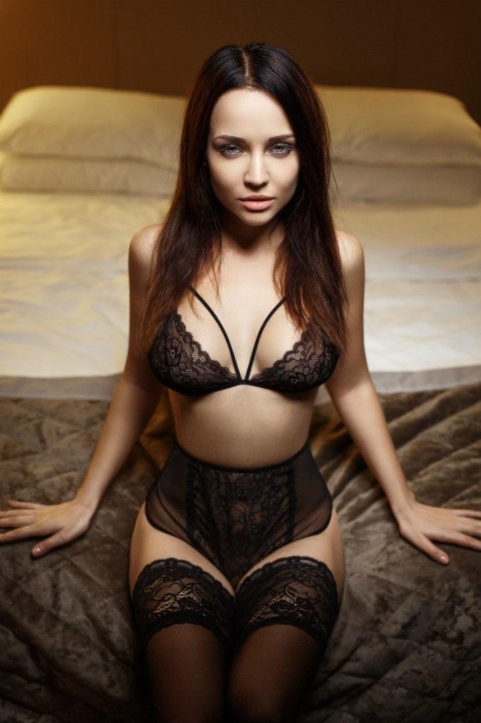 下着 美女 外国人 ランジェリー モデル エロ画像【33】