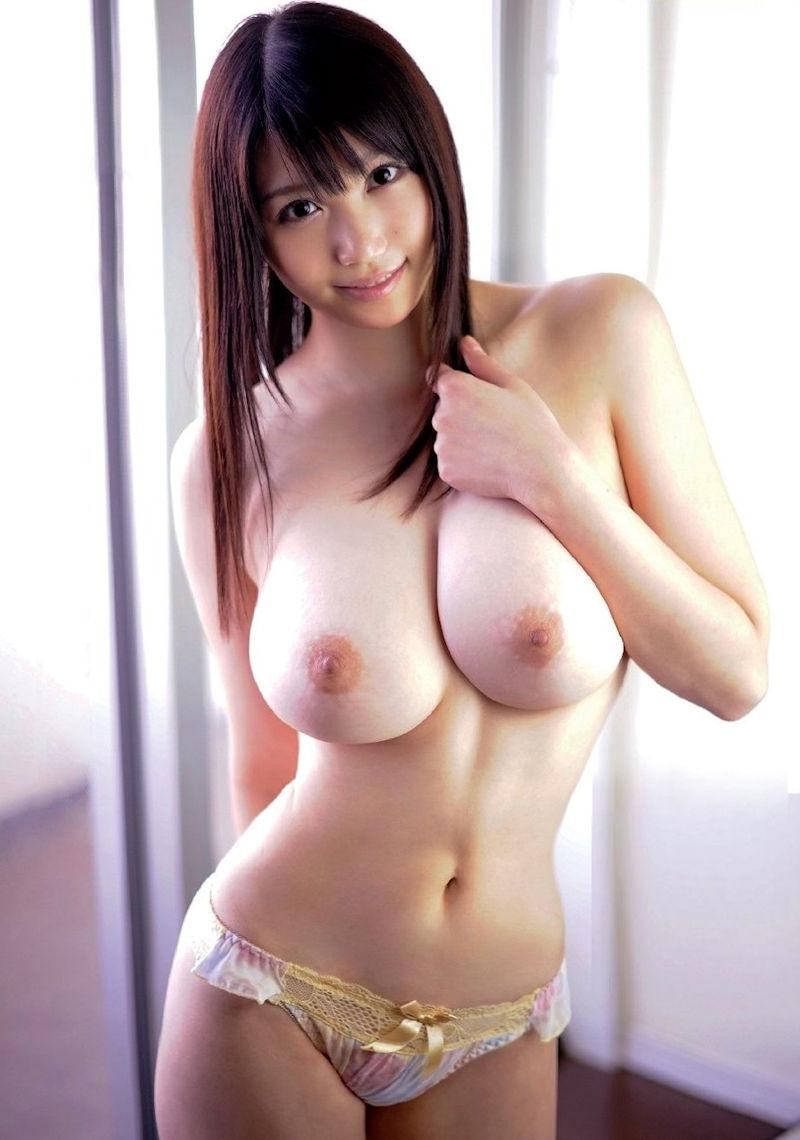 スレンダー 巨乳 美女 イイ体 イイ女 エロ画像【32】