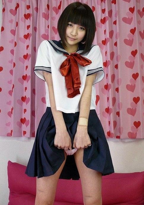 ぱっつん 前髪 可愛い 姫系 美女 エロ画像【21】