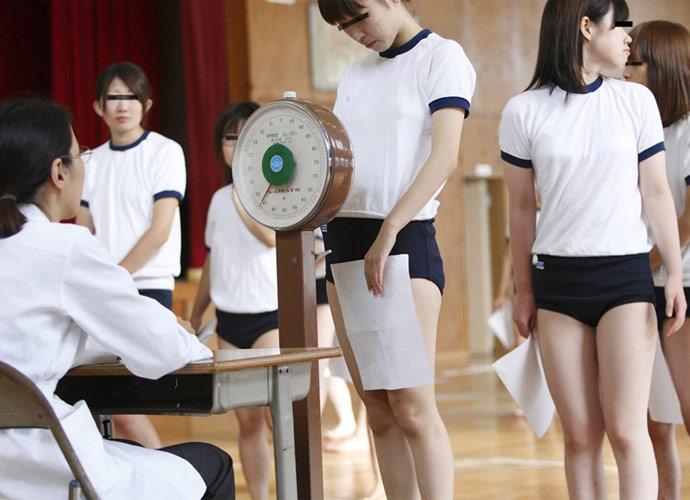ブルマ 体操服 身体測定 エロ画像【6】