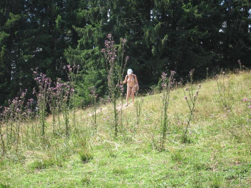 リュックサック 背負う ハイキング バックパッカー エロ画像【26】