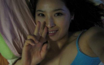 韓国人夫婦が投稿したハメ撮りなど美人妻のエロ画像 ②