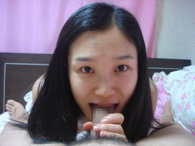 韓国人 夫婦 投稿 ハメ撮り 美人 妻 エロ画像