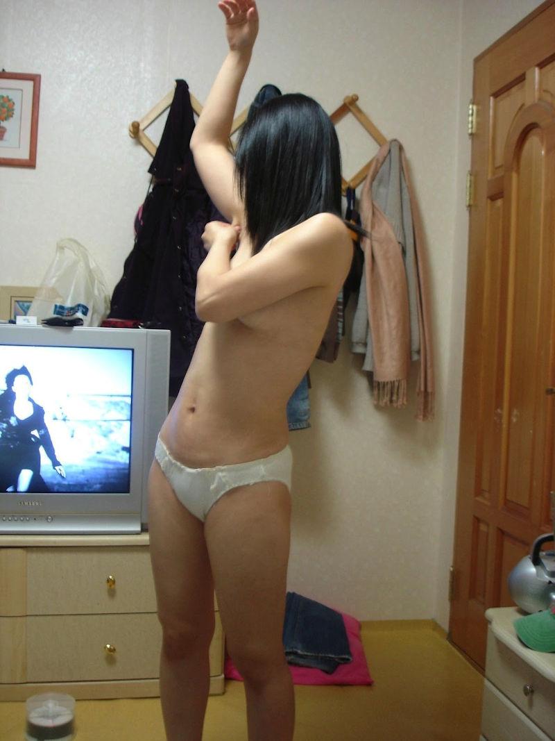 韓国人 夫婦 投稿 ハメ撮り 美人 妻 エロ画像【5】