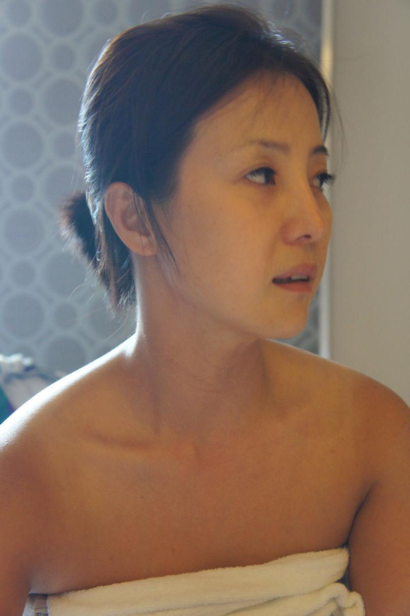 韓国人 夫婦 投稿 ハメ撮り 美人 妻 エロ画像【47】