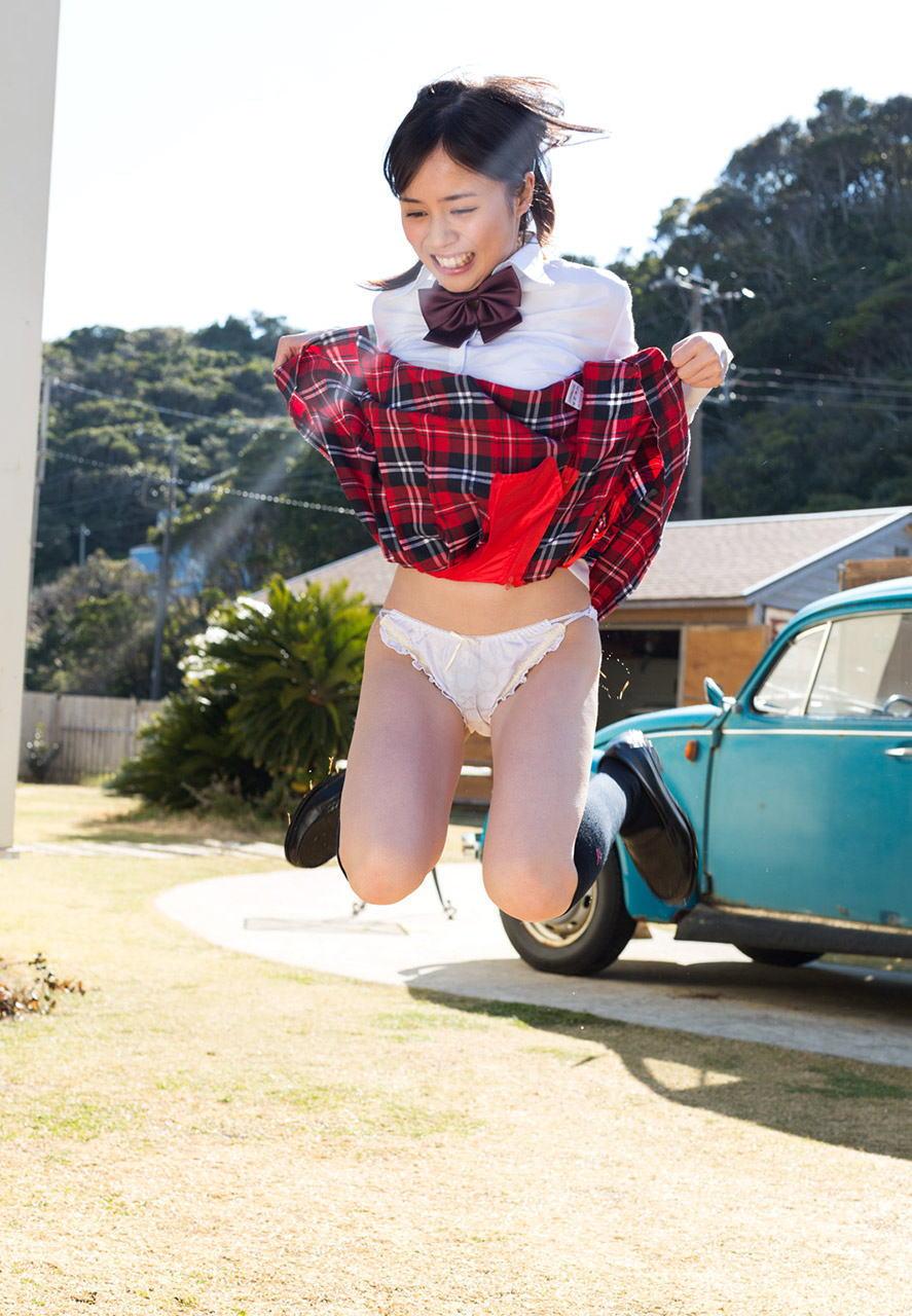 パンチラ スカート ジャンプ エロ画像【10】