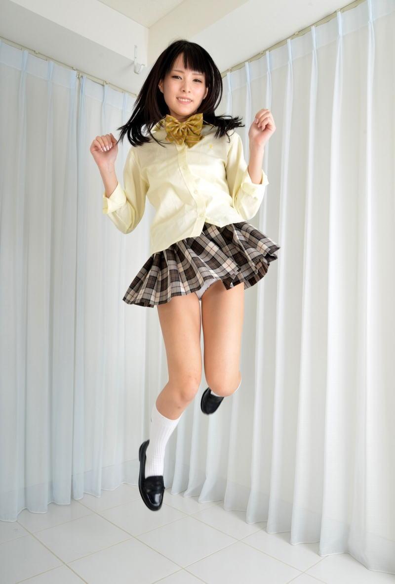 パンチラ スカート ジャンプ エロ画像【15】