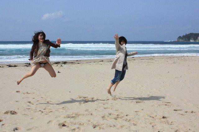 パンチラ スカート ジャンプ エロ画像【25】
