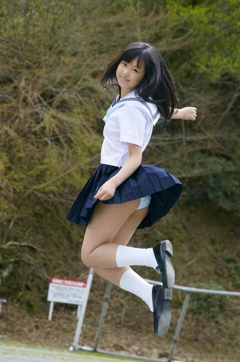 パンチラ スカート ジャンプ エロ画像【29】