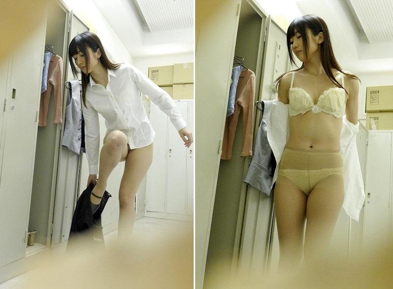 美女 セクシー 着替え エロ画像