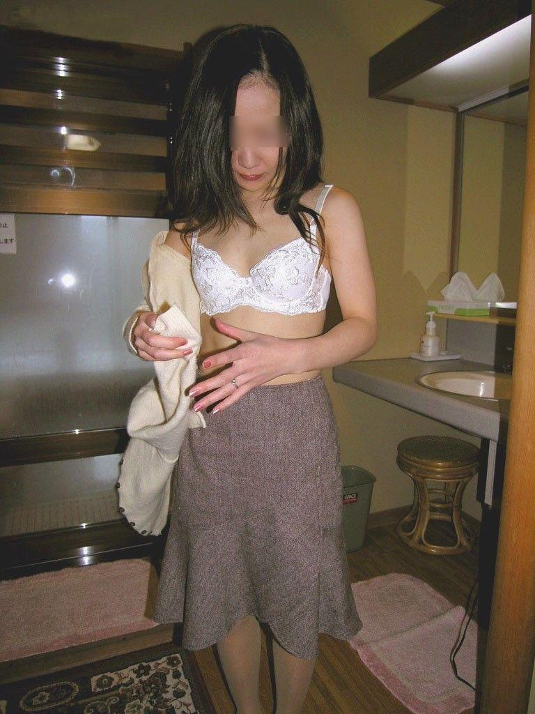 ラブホ おばさん このあと滅茶苦茶セックスした 着衣 熟女 エロ画像【29】
