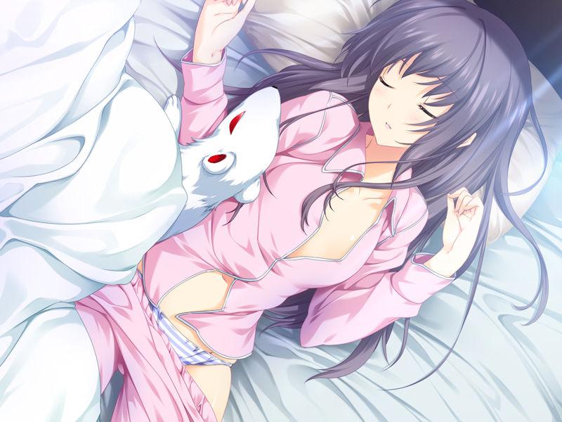 居眠り パンチラ 睡眠中 パンツ 二次元 エロ画像【18】
