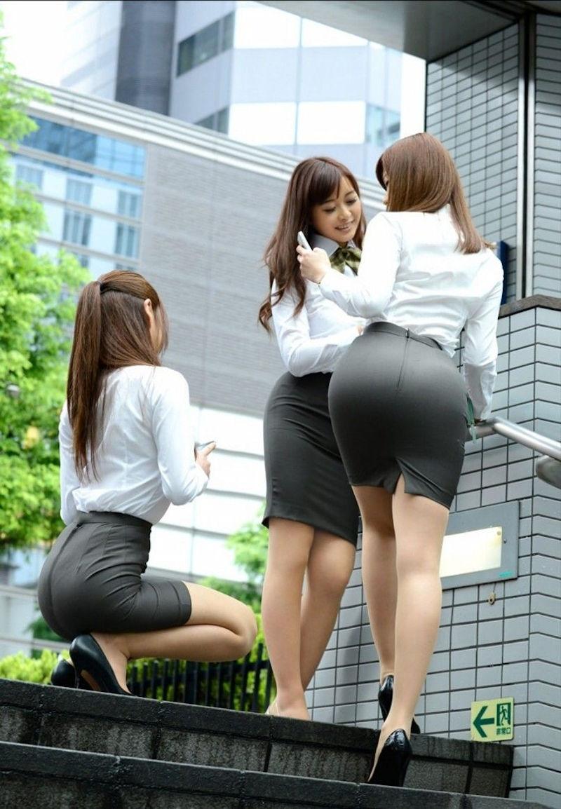 OL 複数 群れる セクシー 女性社員 エロ画像【2】