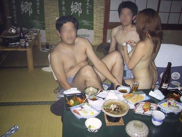 ピンクコンパニオン 全裸 宴会 ヌード エロ画像【13】
