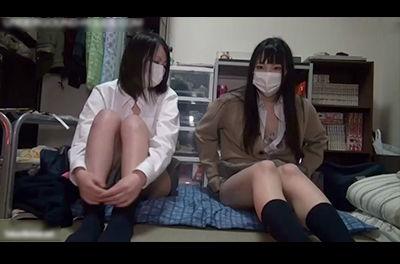 【個人撮影 エロ動画】 ハメ師の要求に女子校生が失笑しながら制服でプチ円光! 【素人】