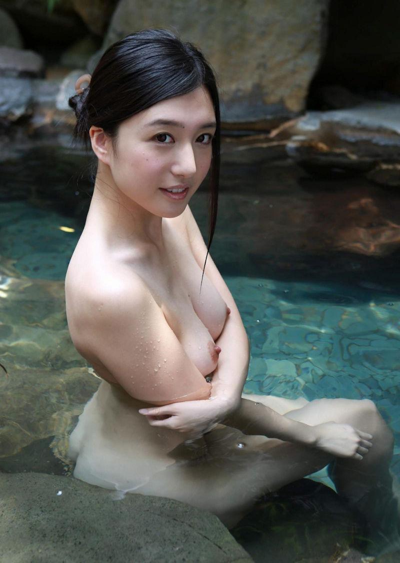 美女 温泉 ヌード エロ画像【54】