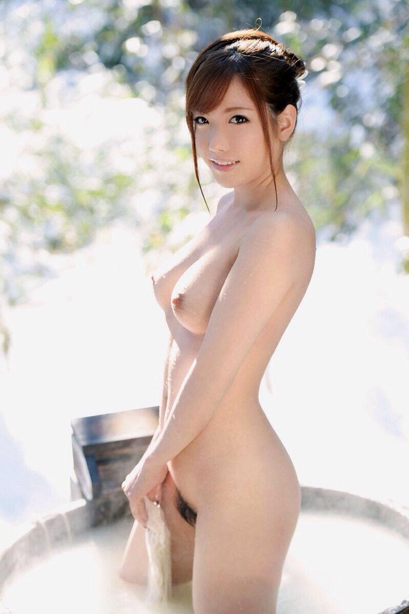 美女 温泉 ヌード エロ画像【55】