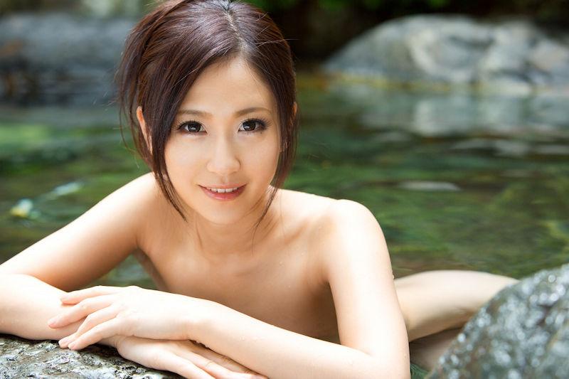 美女 温泉 ヌード エロ画像【60】
