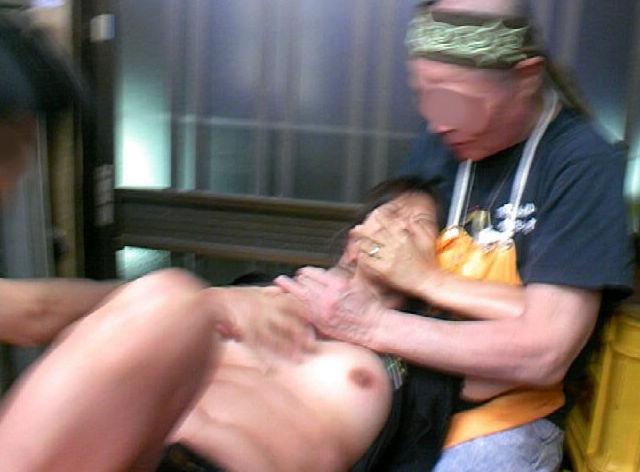 おばさん レイプ 犯される 熟女 強姦 エロ画像【5】