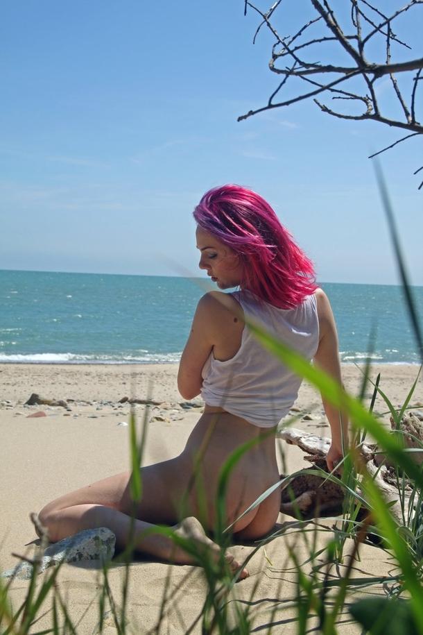 外国人 髪の毛 カラフルヘア エロ画像【44】