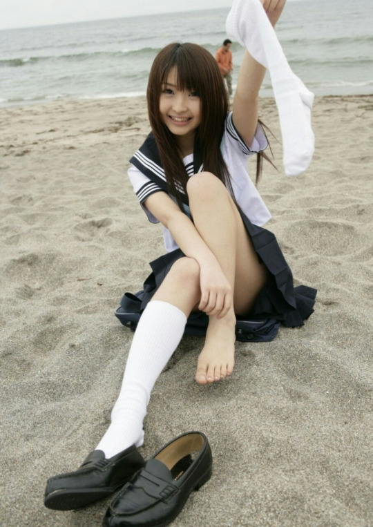 JK 靴下 白 スクールソックス エロ画像【6】