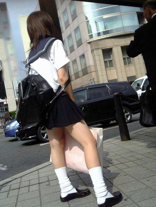 JK 靴下 白 スクールソックス エロ画像【15】