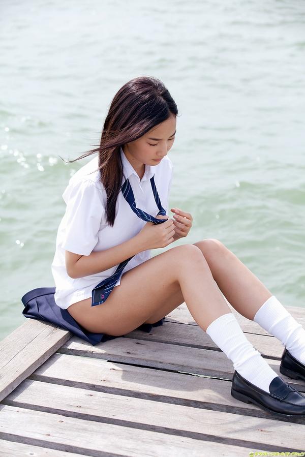 JK 靴下 白 スクールソックス エロ画像【16】