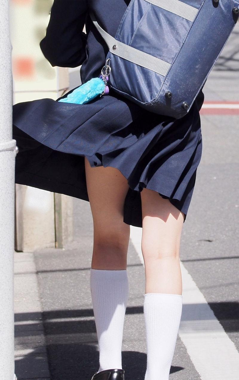 JK 靴下 白 スクールソックス エロ画像【25】