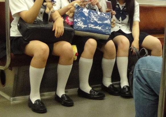 JK 靴下 白 スクールソックス エロ画像【43】