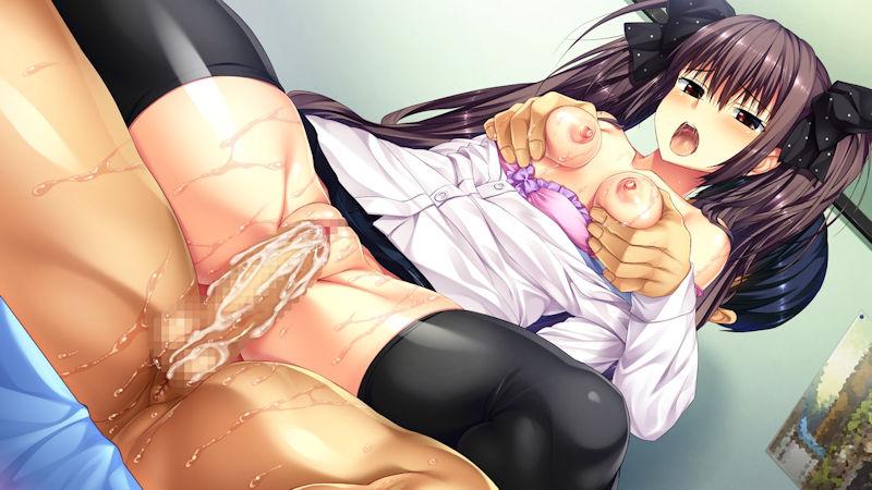 着衣 貧乳 セックス 二次元 エロ画像【58】