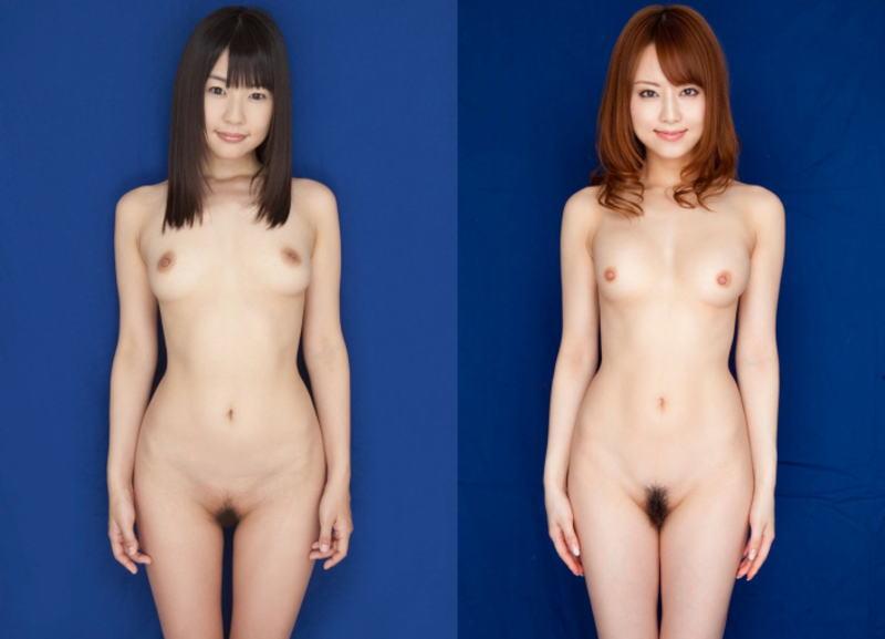 直立ヌードが美しい全裸美女のエロ画像 表紙