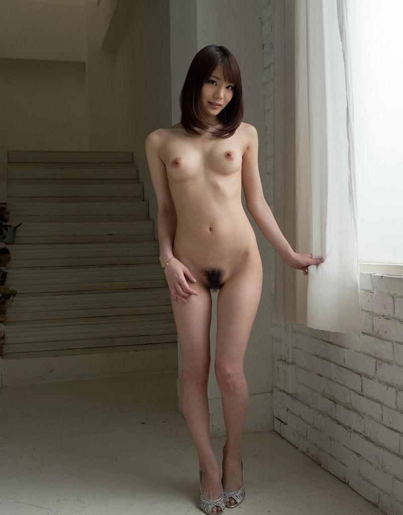 直立 ヌード 美しい 全裸 美女 エロ画像【47】
