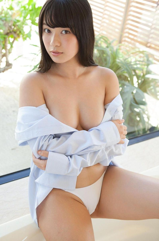 服 乳首 ギリギリ 隠す 着衣 エロ画像【42】