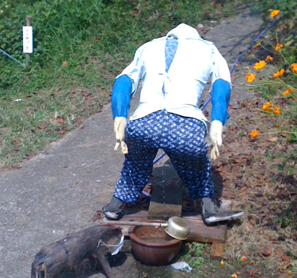 おばさん お漏らし 着衣 失禁 熟女 エロ画像【17】