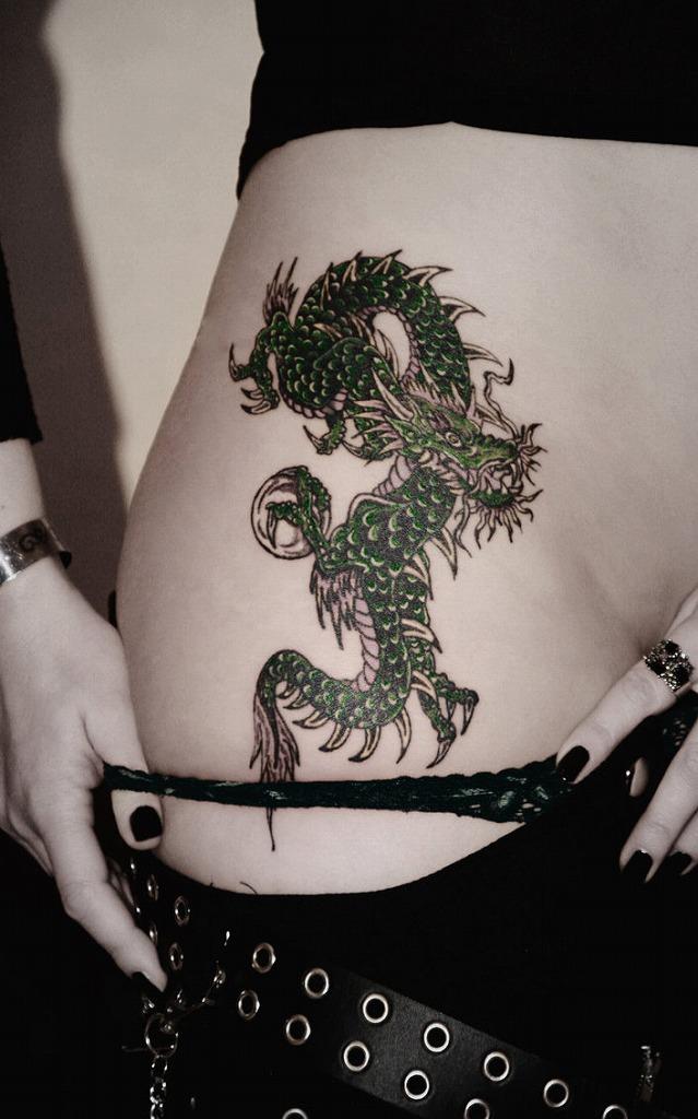 龍 ドラゴン タトゥー エロ画像【7】