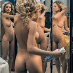 カール&ウェービーなパーマヘア外国人美女のエロ画像
