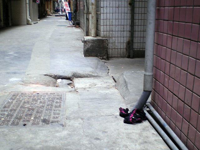 地面 ブラ パンツ 落ちてる 下着 エロ画像【28】