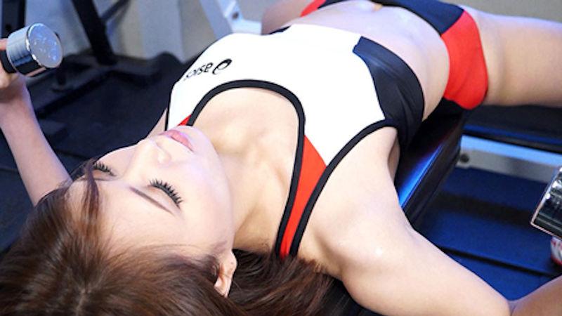 スポーツブラ スポブラ 美女 エロ画像【6】