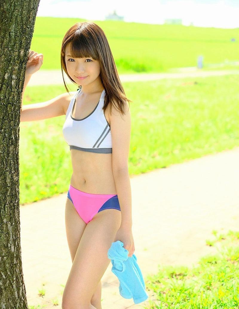 スポーツブラ スポブラ 美女 エロ画像【52】